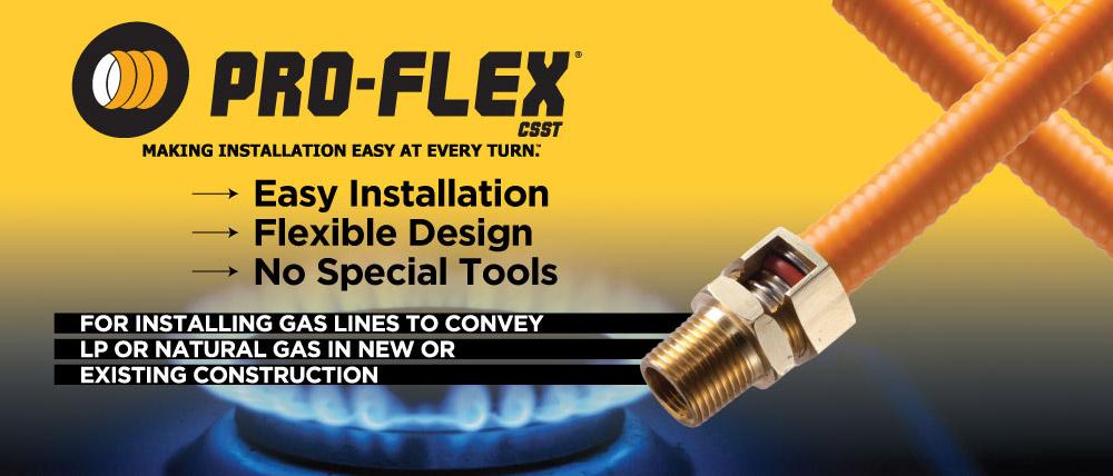 Natural Gas Flex Hose Code